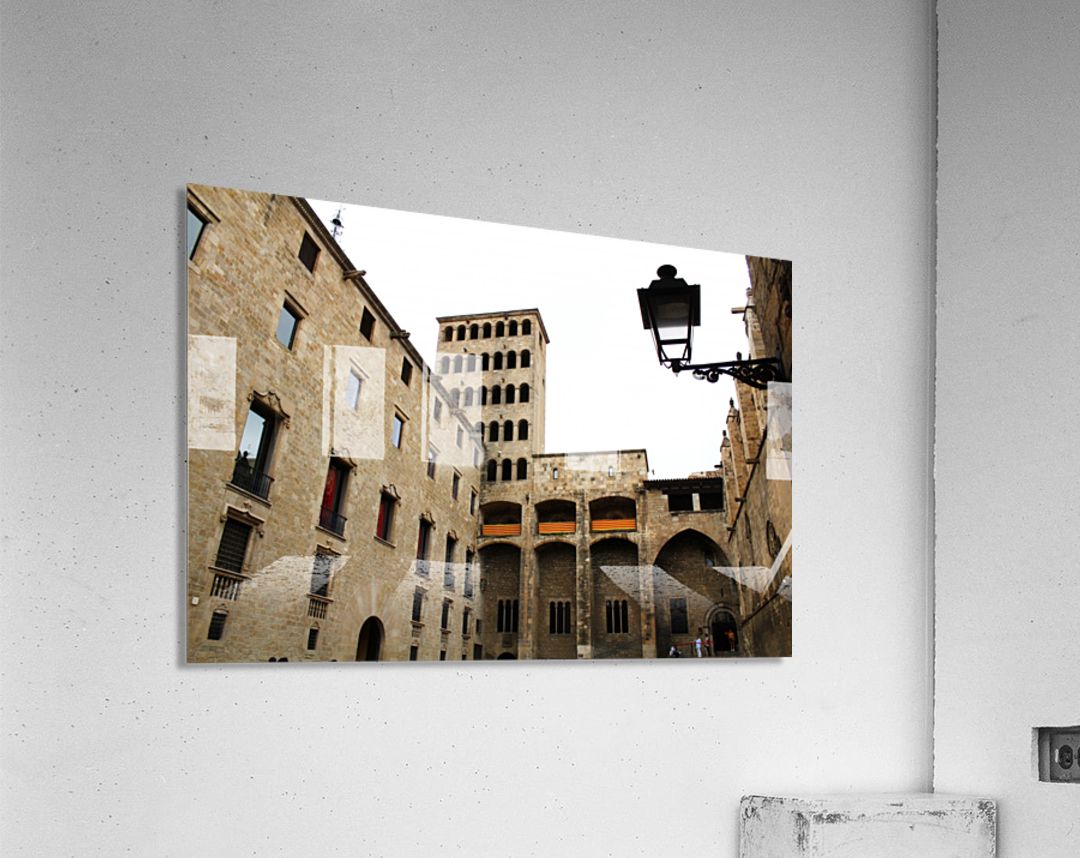 Gothic Quarter - Catalunya - Spain Landmark  Acrylic Print