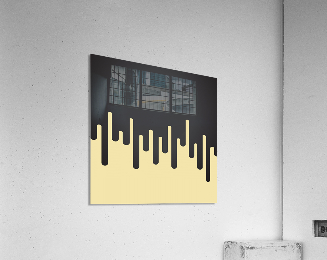 Vanilla Melting Tone  Acrylic Print