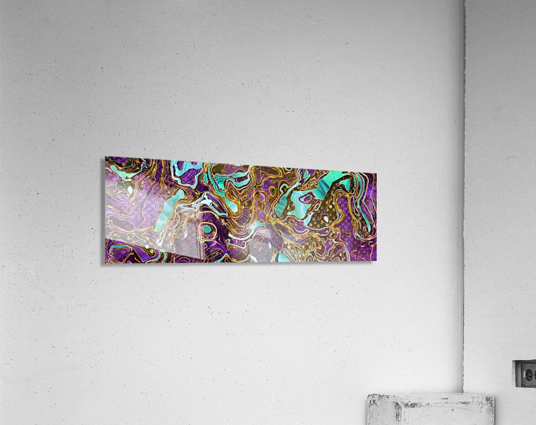 Pattern LXXVIII   II   Panoramic  Acrylic Print