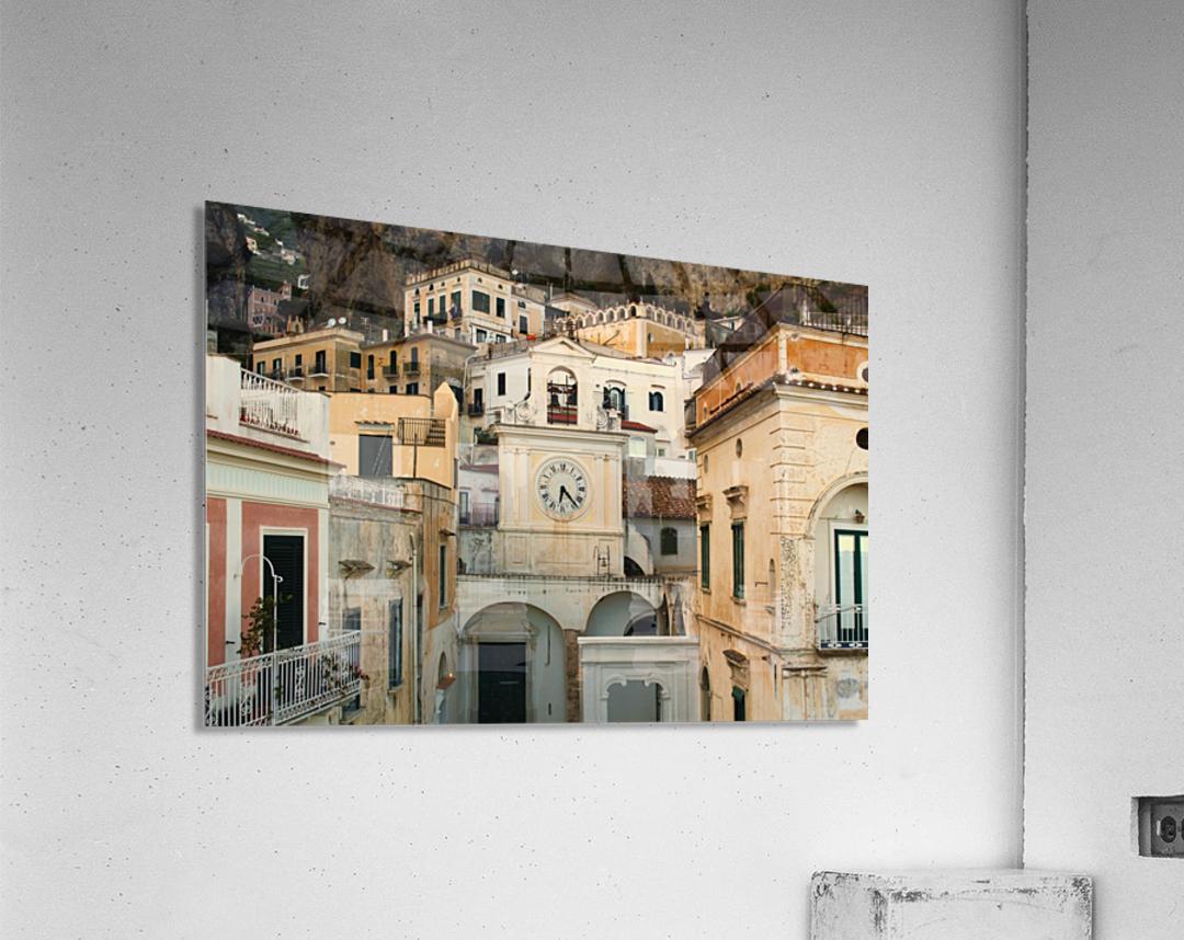 Church Clock - Italy   Impression acrylique