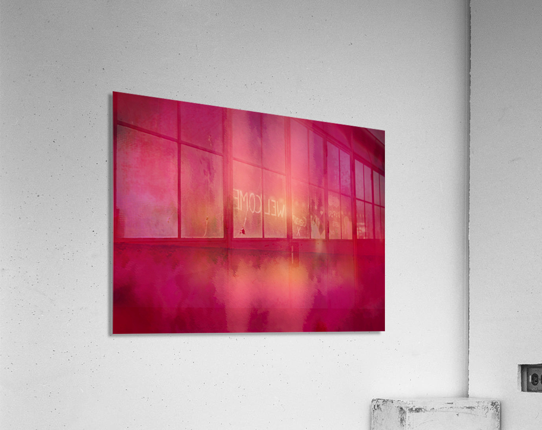 Red Sky at Night  Acrylic Print