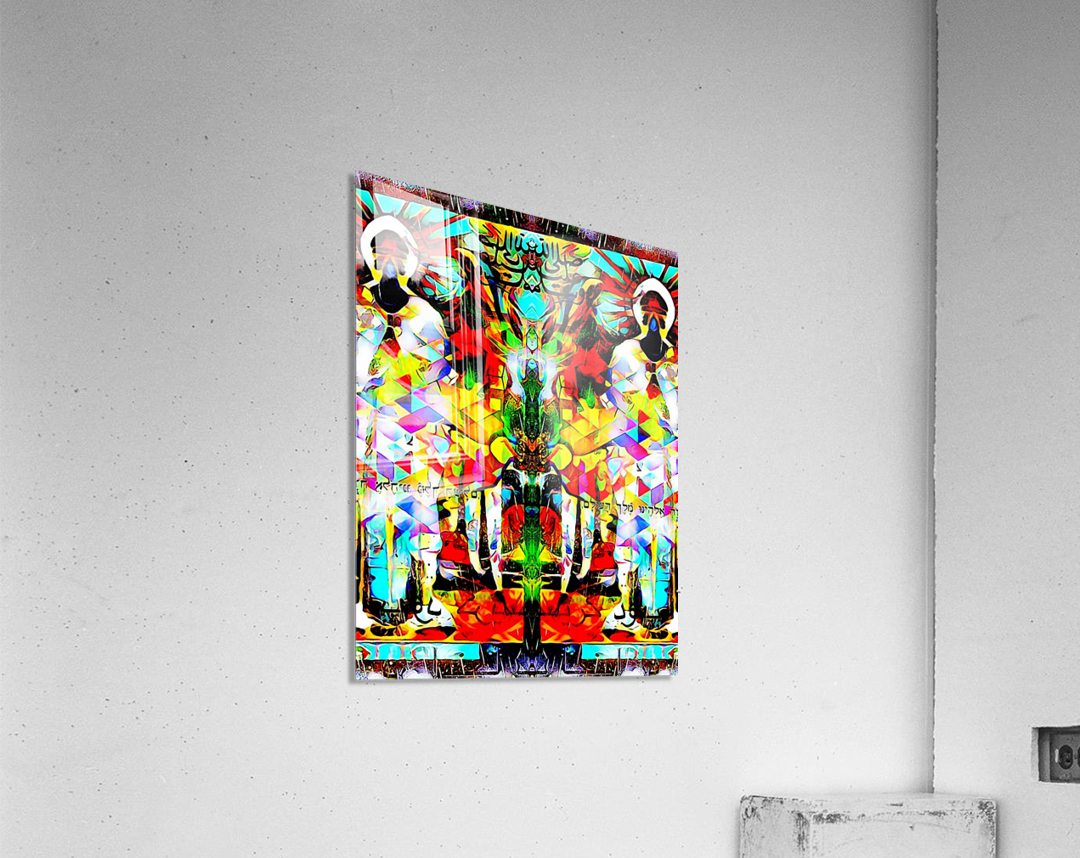 astrally activated  Acrylic Print