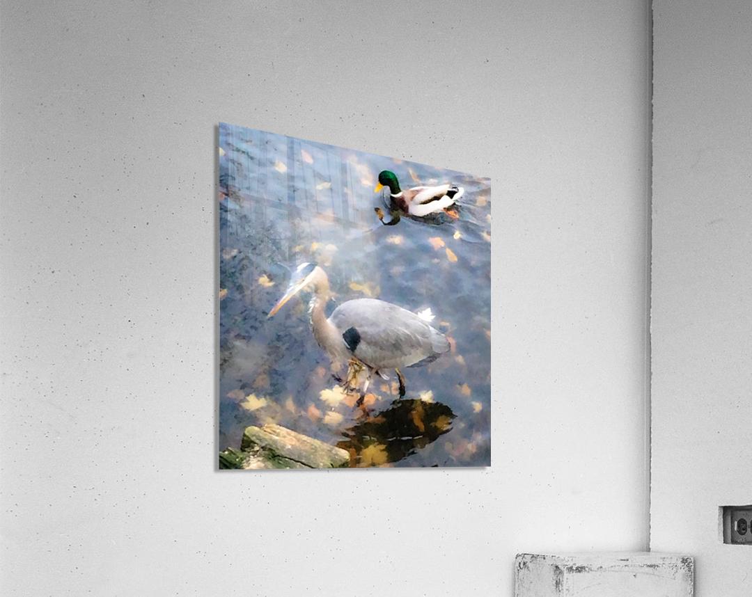 2 friends  Impression acrylique