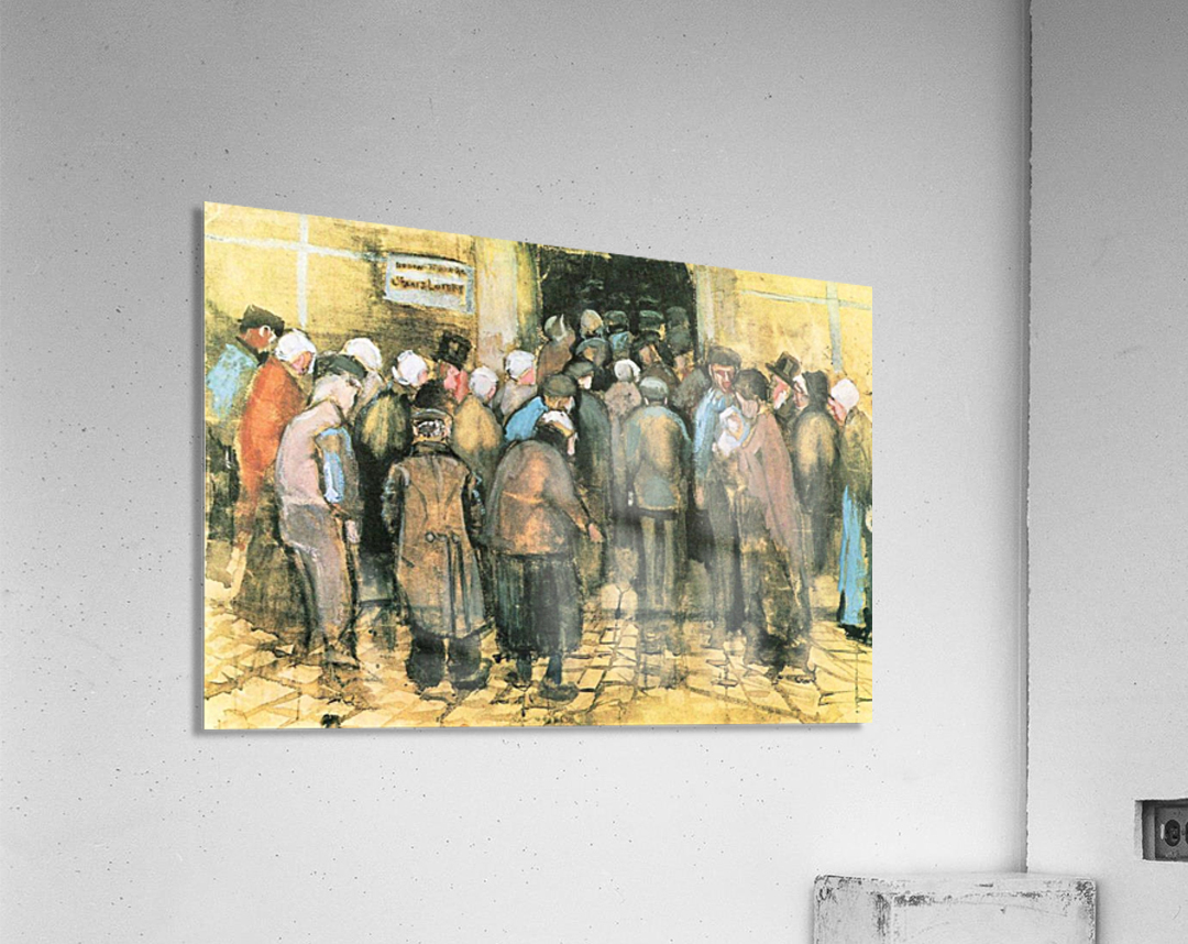 The National Lottery by Van Gogh  Acrylic Print