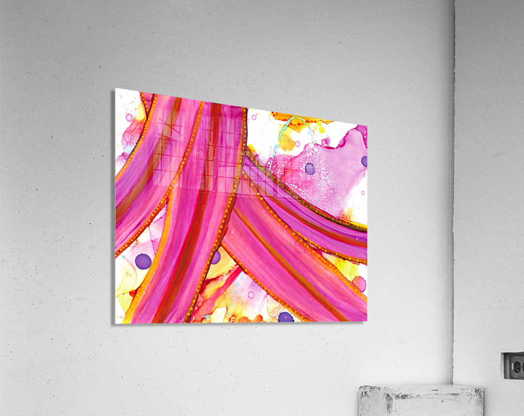The party is over  Acrylic Print