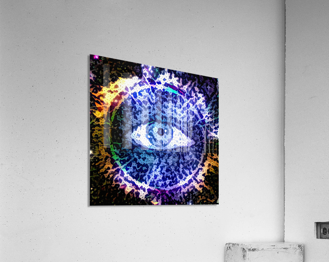 Beautiful Eye Design  Acrylic Print