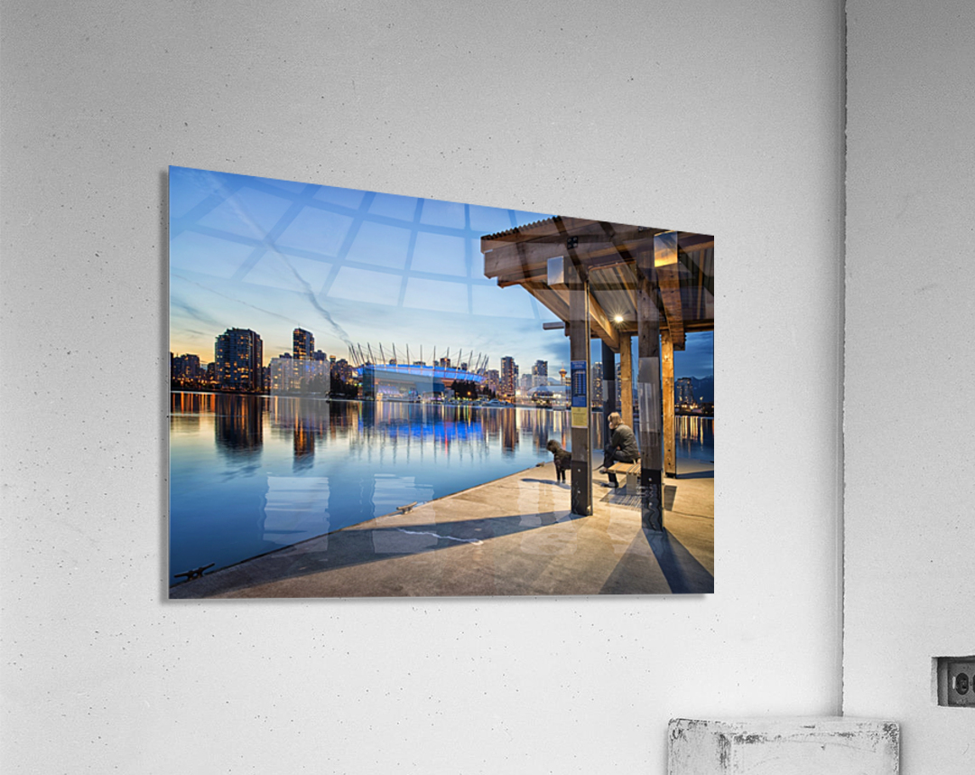 Waiting for Water Taxi  Acrylic Print