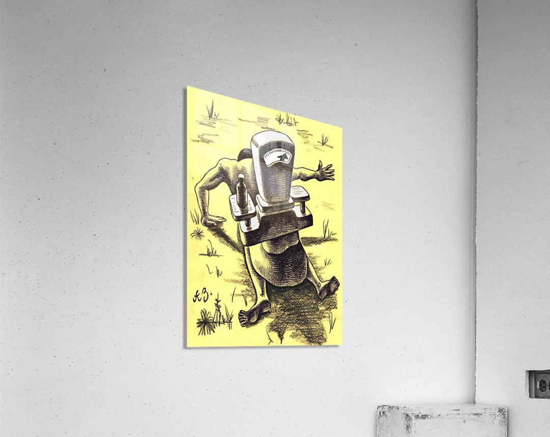 hardship  Acrylic Print