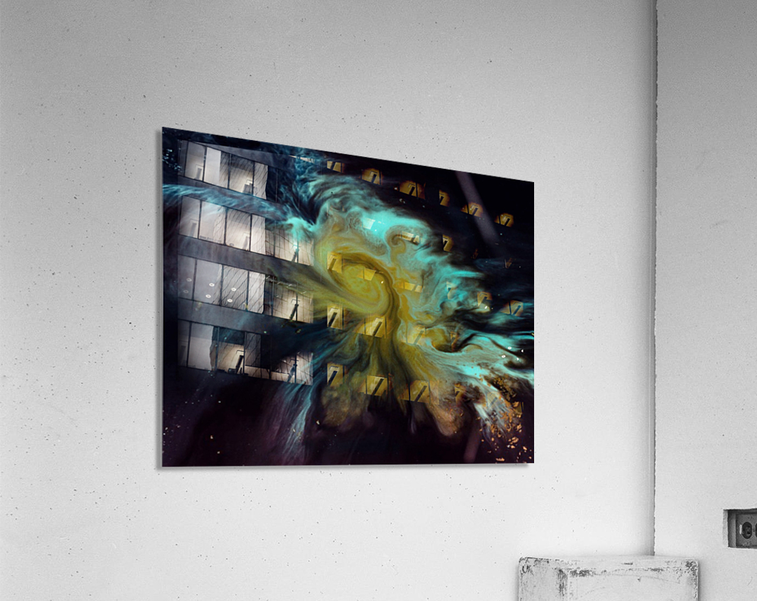 Fish   Impression acrylique