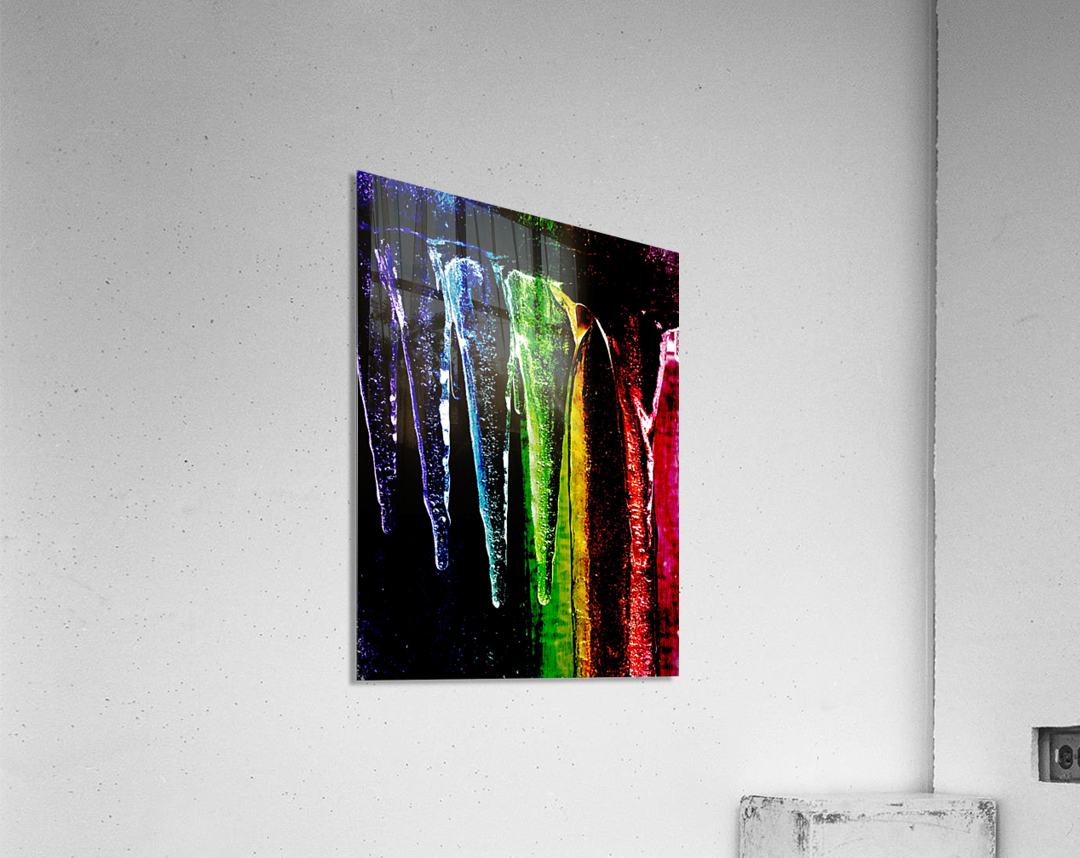 Chakra happy   Impression acrylique