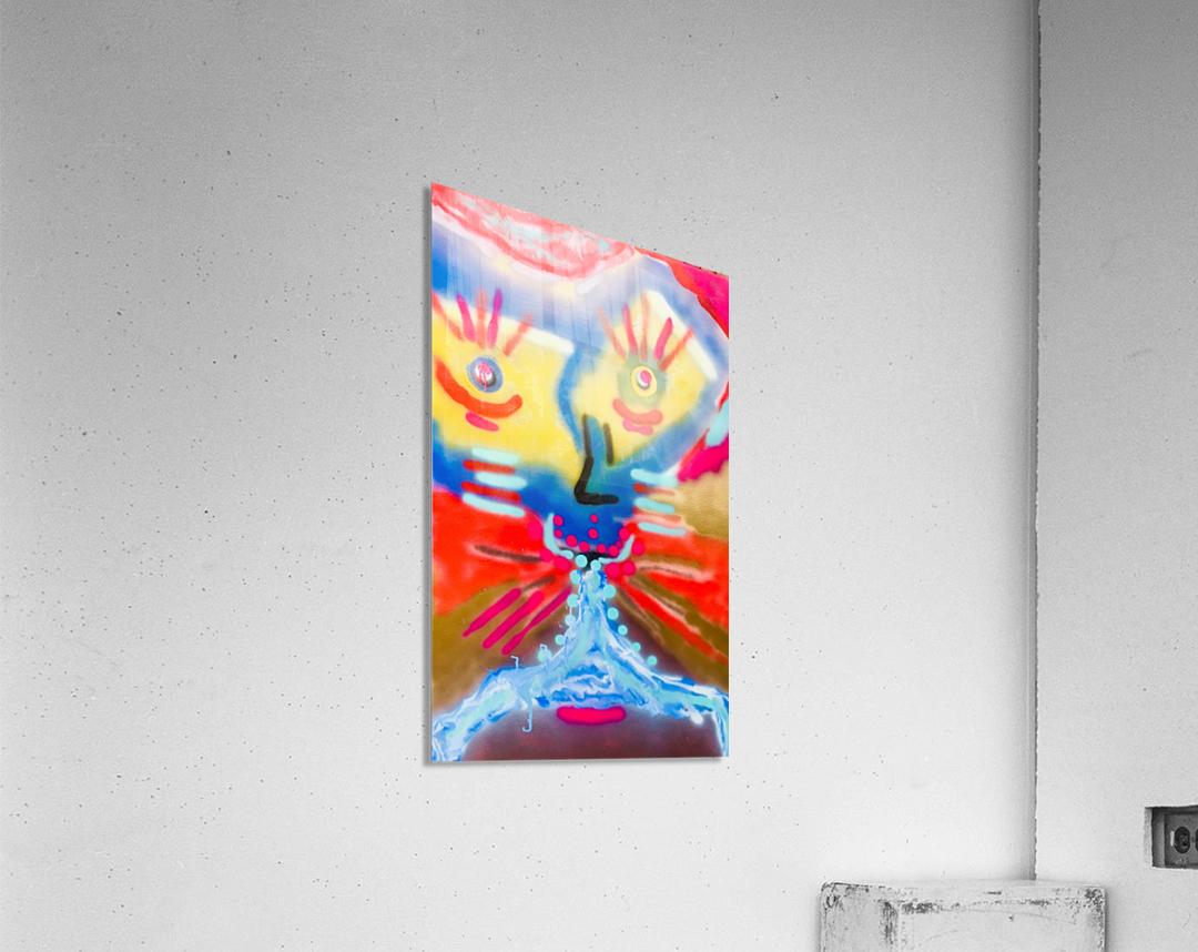 happy face  Acrylic Print