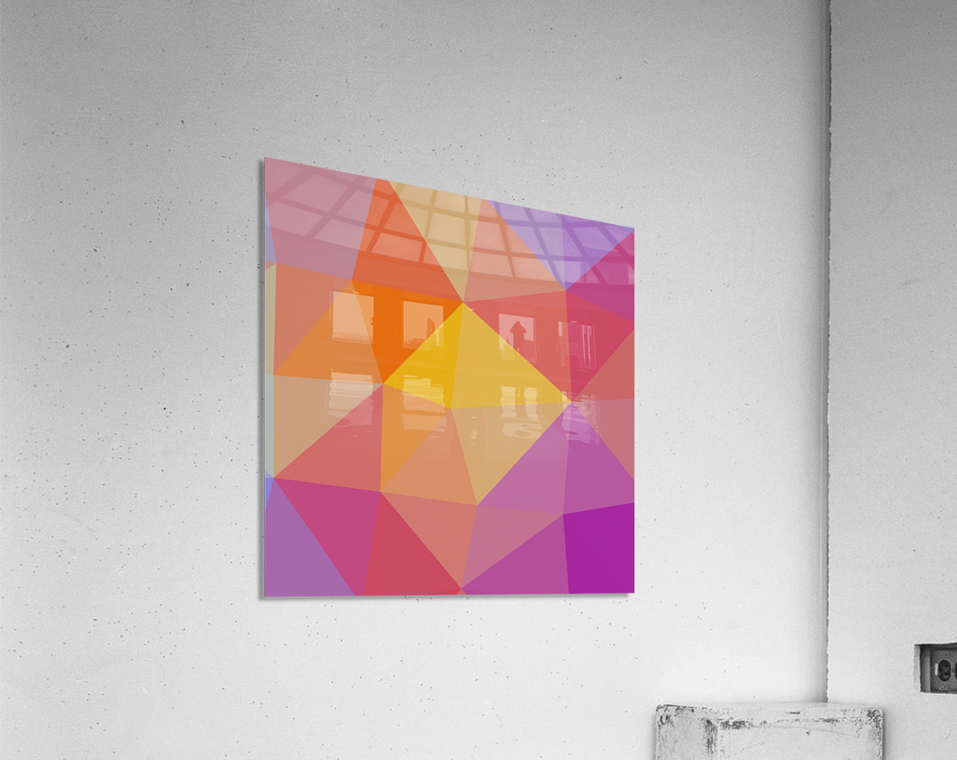 Abstract art (10)  Acrylic Print