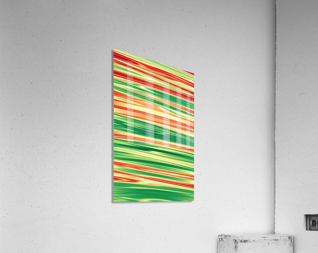 patterns shapes cool fun design (18)  Acrylic Print