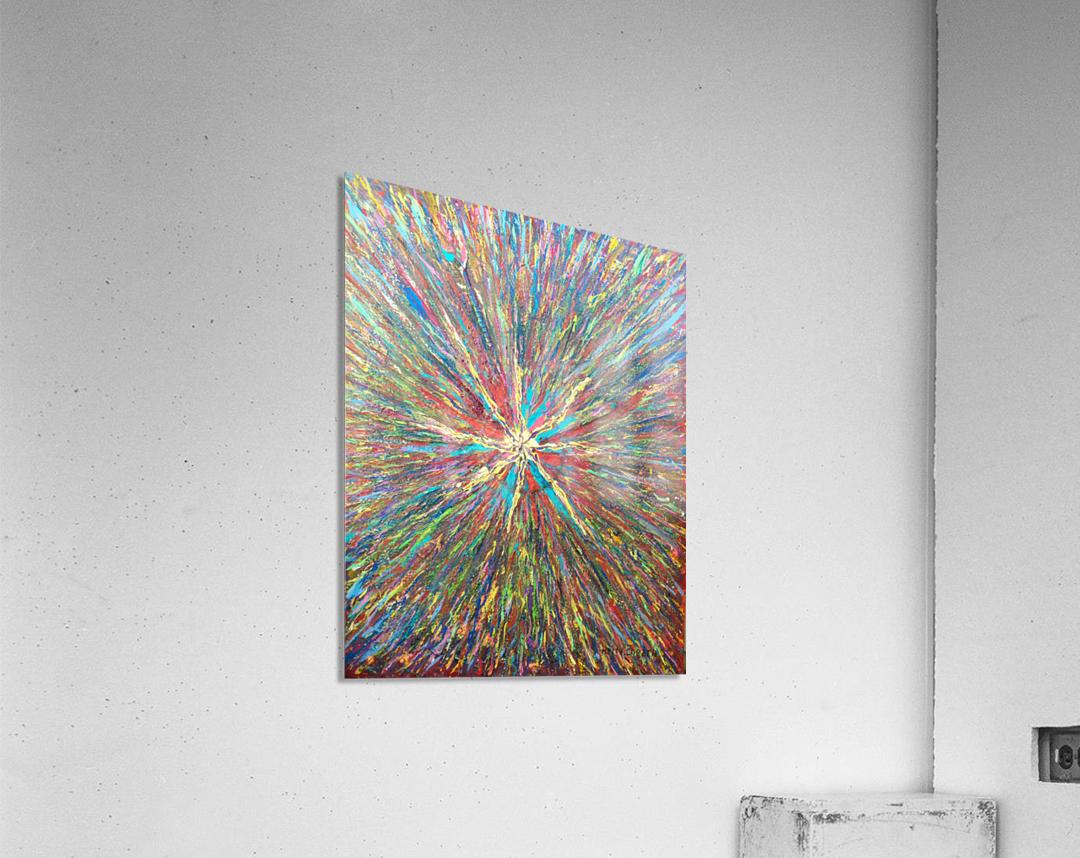 Painters World  Acrylic Print