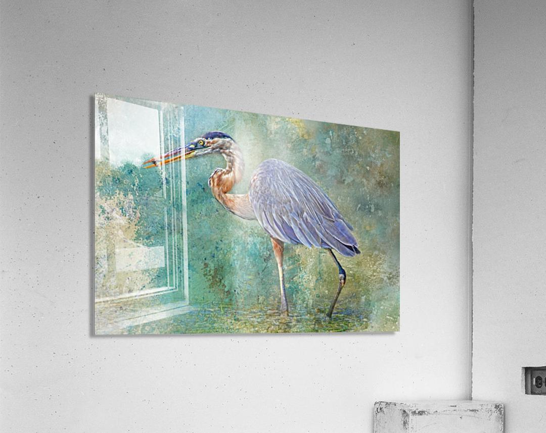 Fishing With Big Blue  Acrylic Print