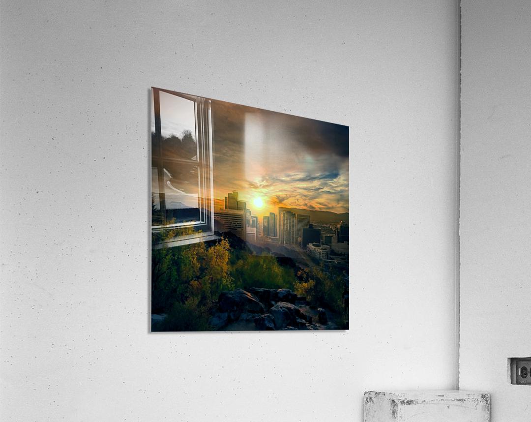 Phoenix  Impression acrylique
