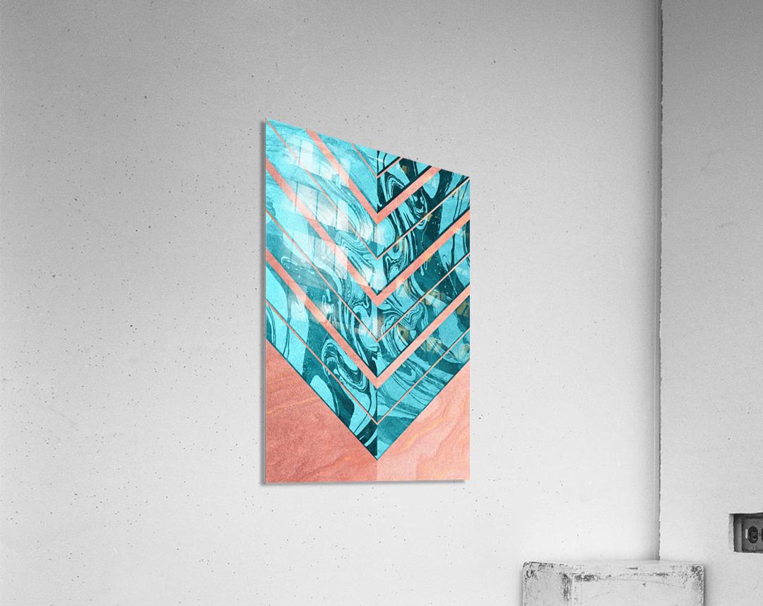 Geometric XXXXVI  Acrylic Print