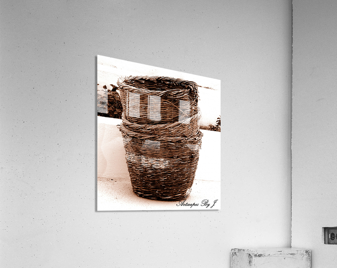 Grape Baskets  Acrylic Print