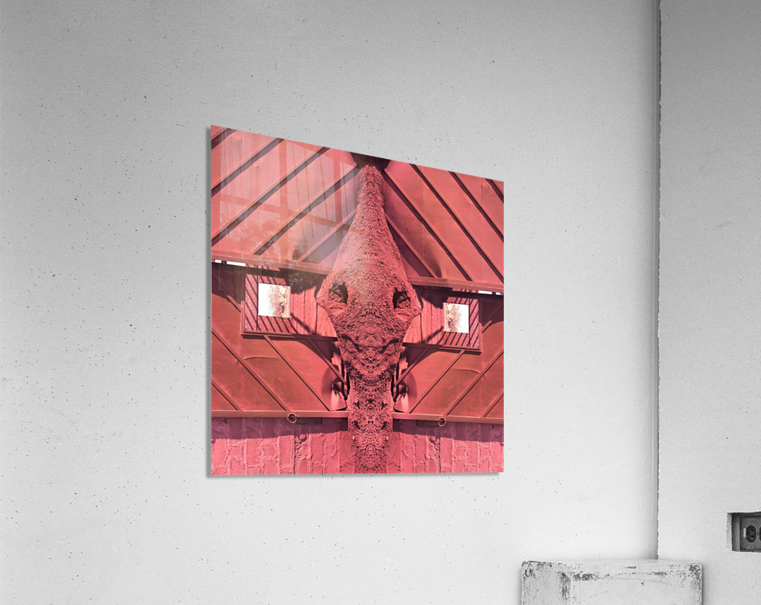 Creature of Red  Acrylic Print