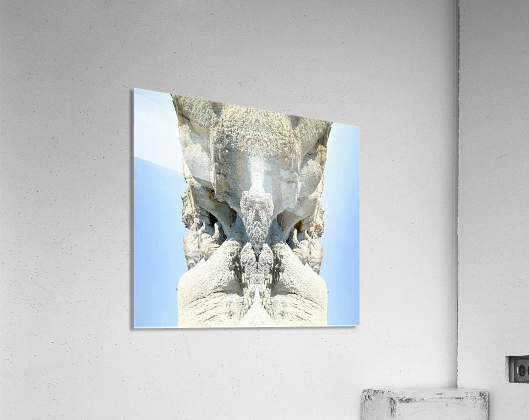 The White Monk   Acrylic Print