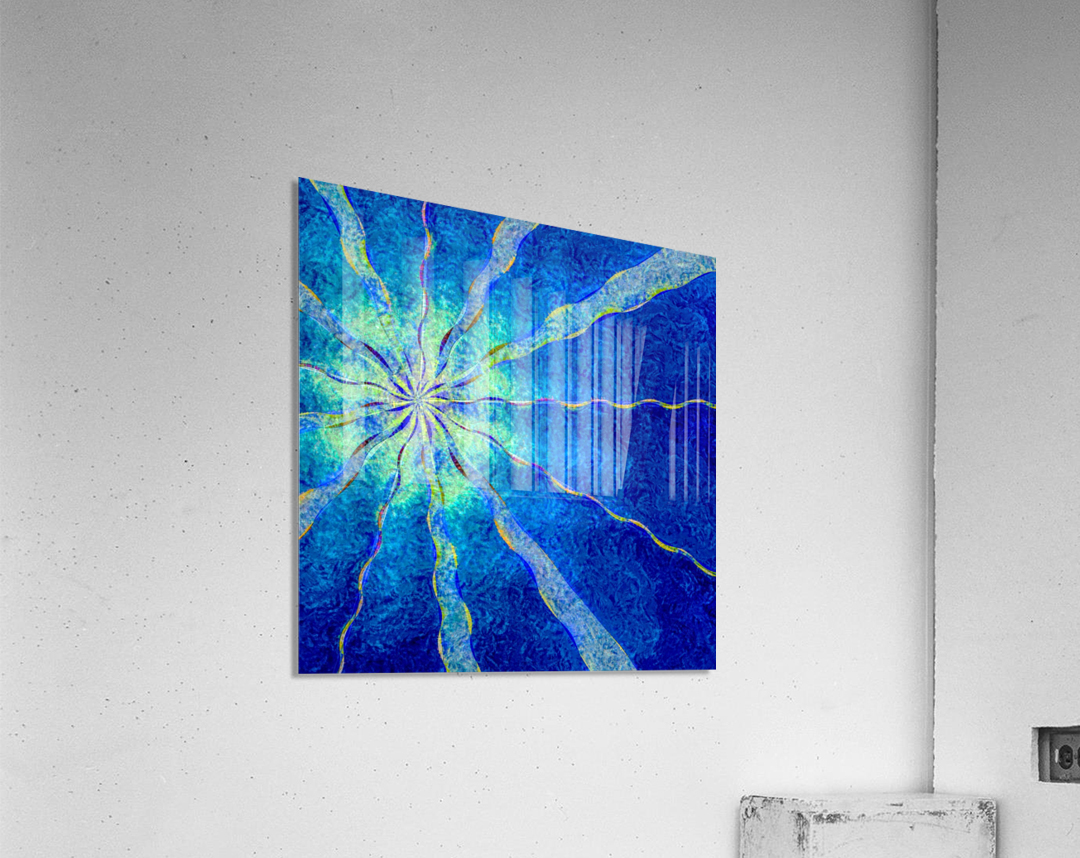 A Blue True Dream of Sky  Acrylic Print