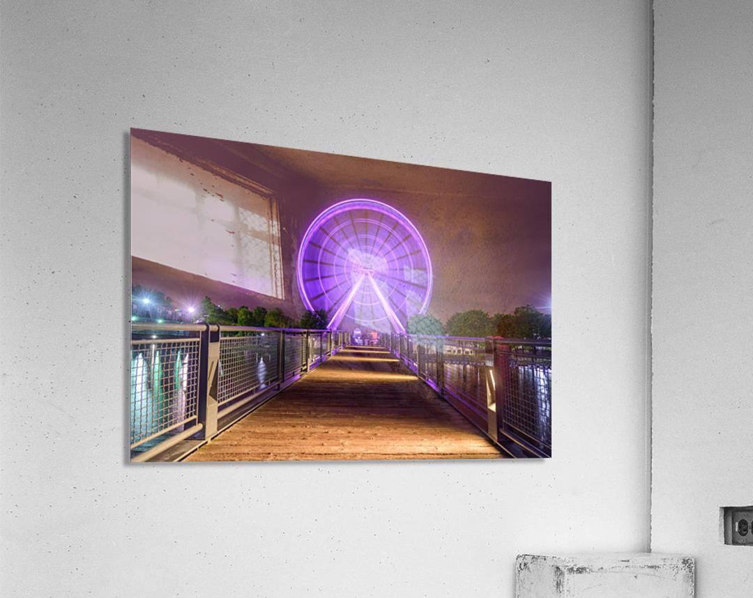 La Grande Roue de Montreal  Acrylic Print