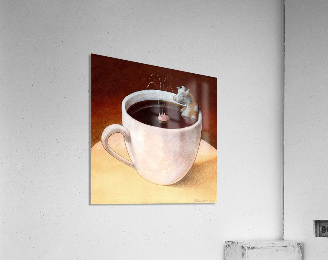 Coffee with milk  Acrylic Print