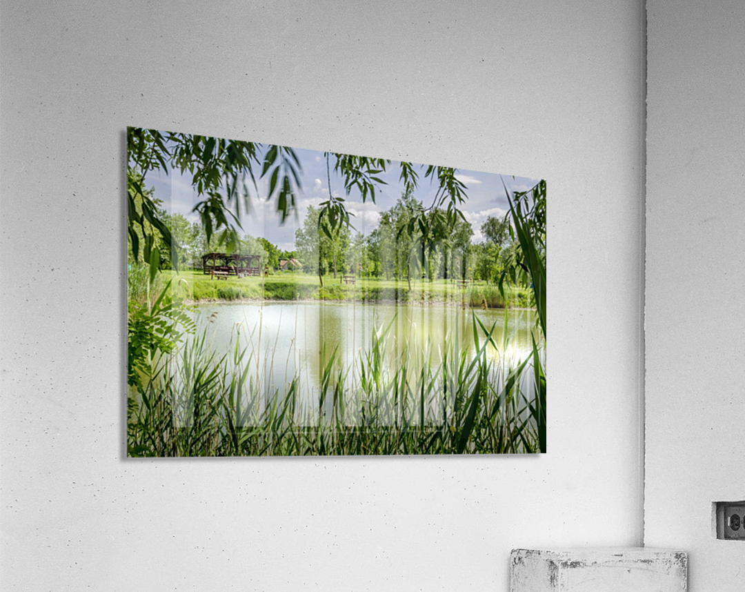 Summer Lake  Acrylic Print