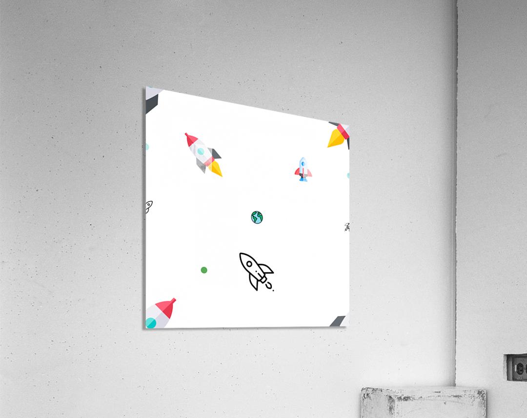 Space (15)  Acrylic Print