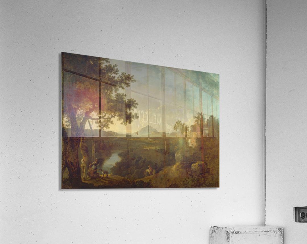 View near Wynnstay  Acrylic Print
