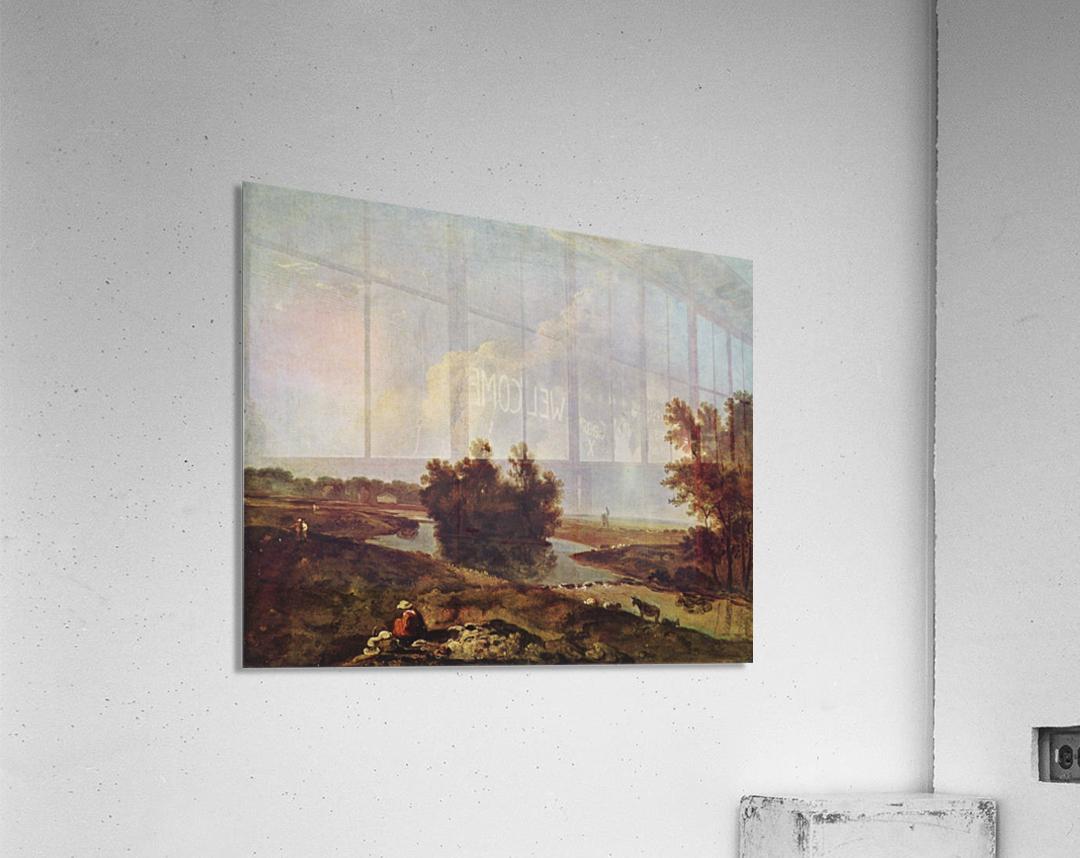 Bush in the river  Acrylic Print