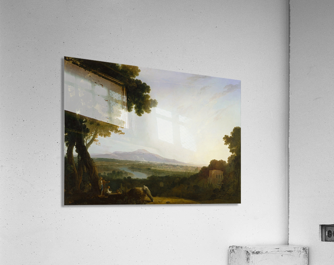Rome from the villa Madama  Impression acrylique
