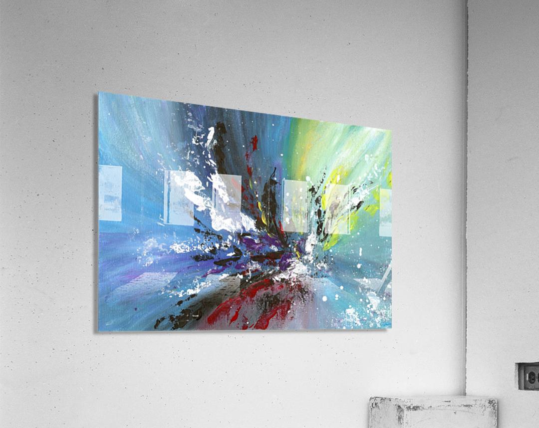Abstract 165  Acrylic Print