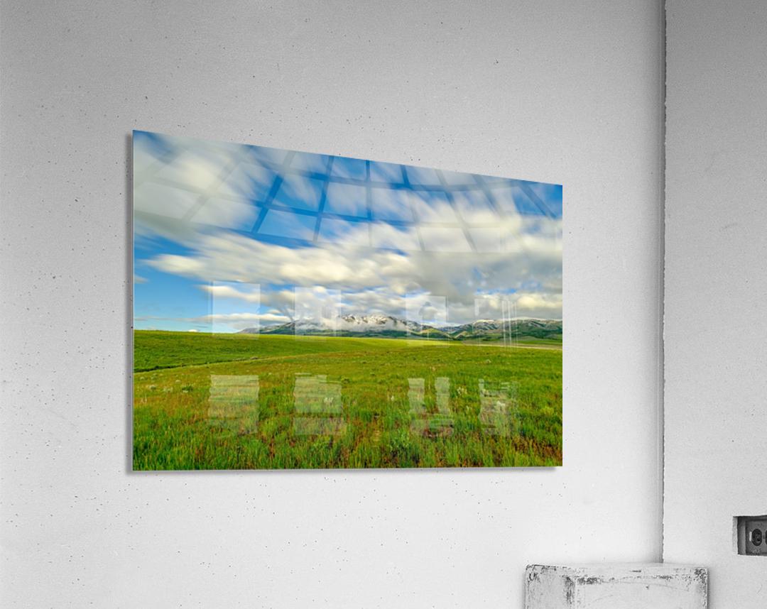 Long Exposure Goodenough Canyon  Acrylic Print