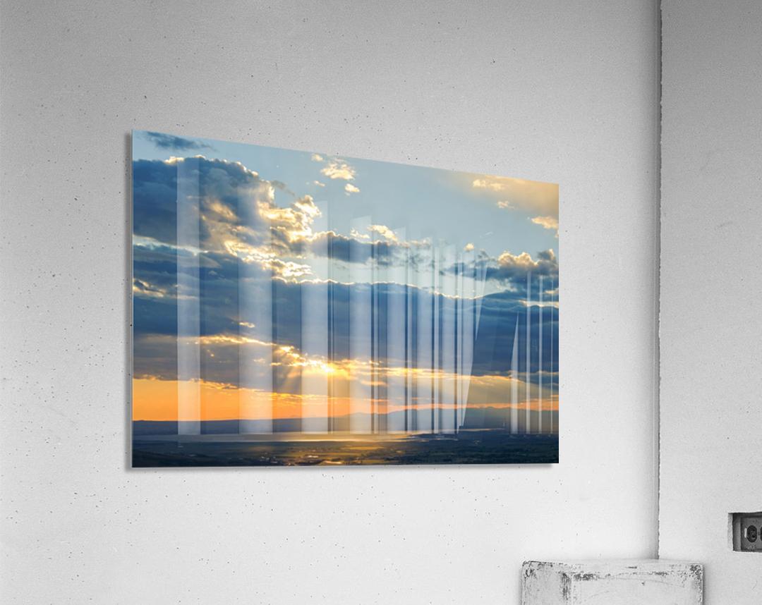 Portneuf Valley at Sunset  Acrylic Print