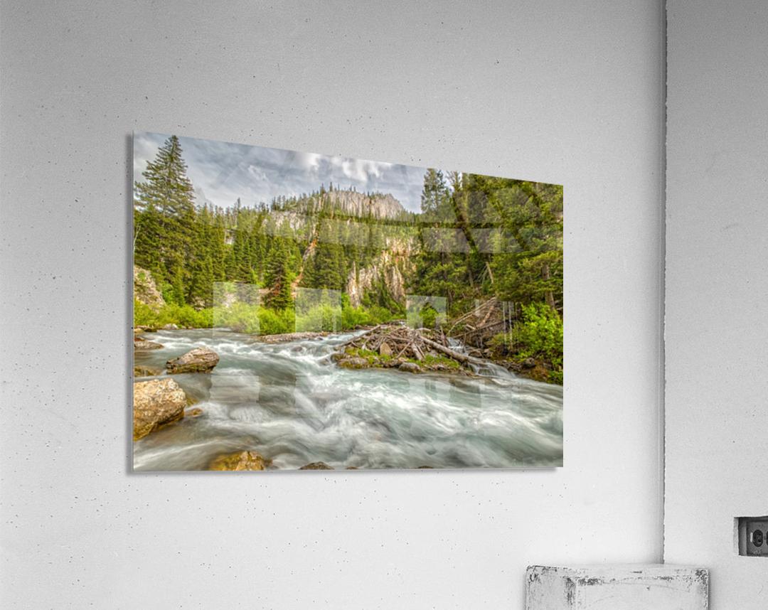 Periodic Spring Flowing into Swift Creek  Acrylic Print