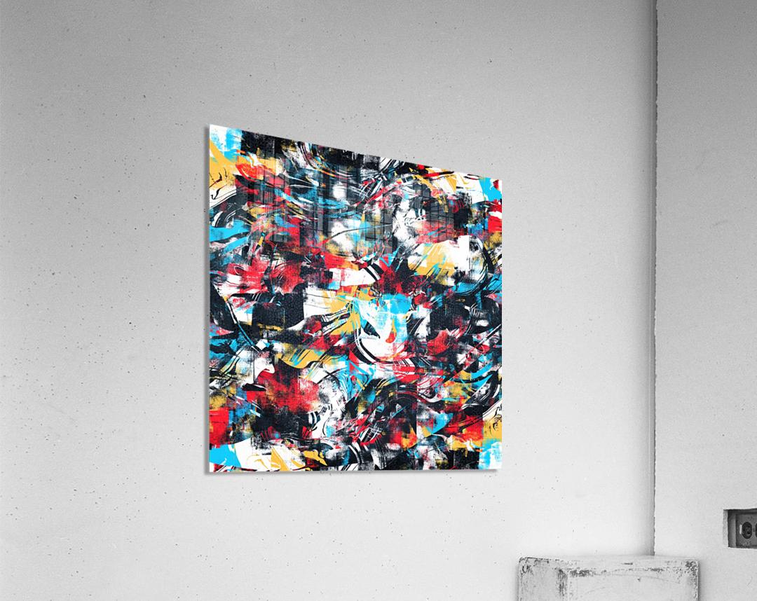 Abstract Flow II  Acrylic Print