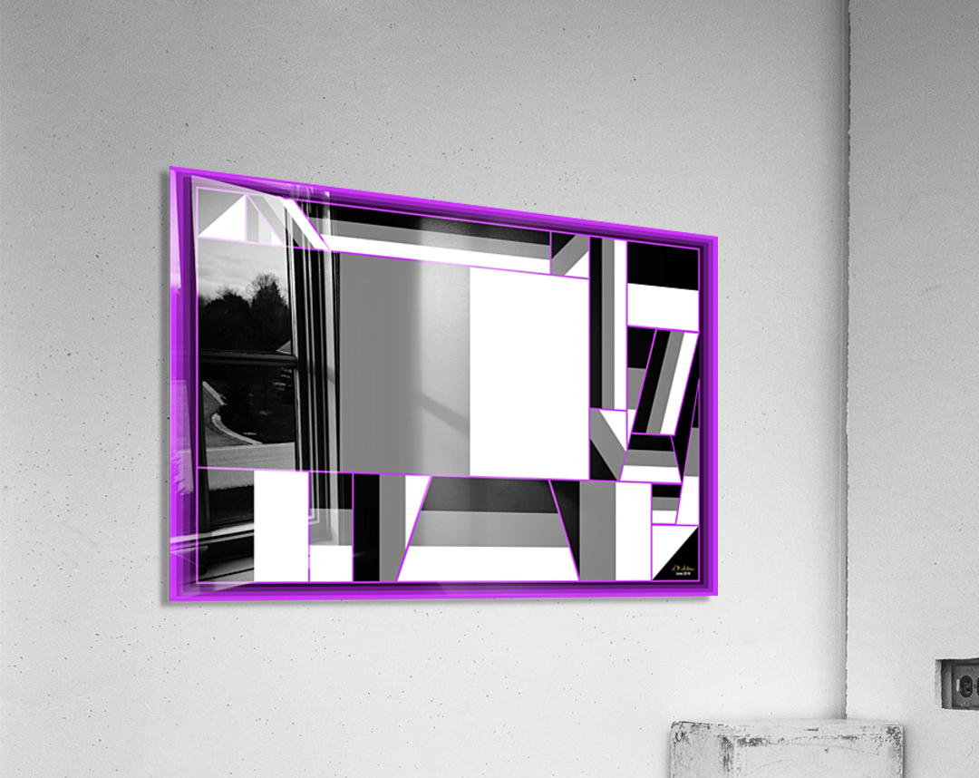 1-Not Everything is Just Black and White  Acrylic Print