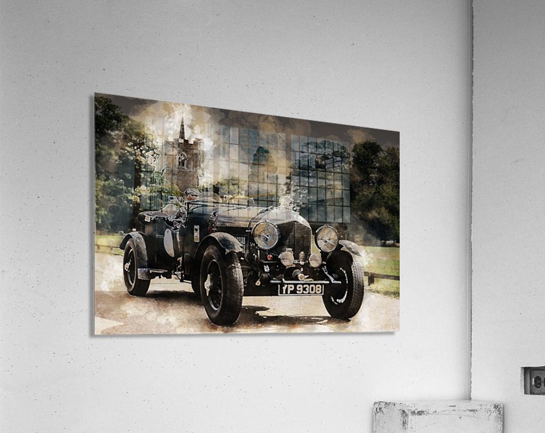 car automobile old timer automotive  Acrylic Print