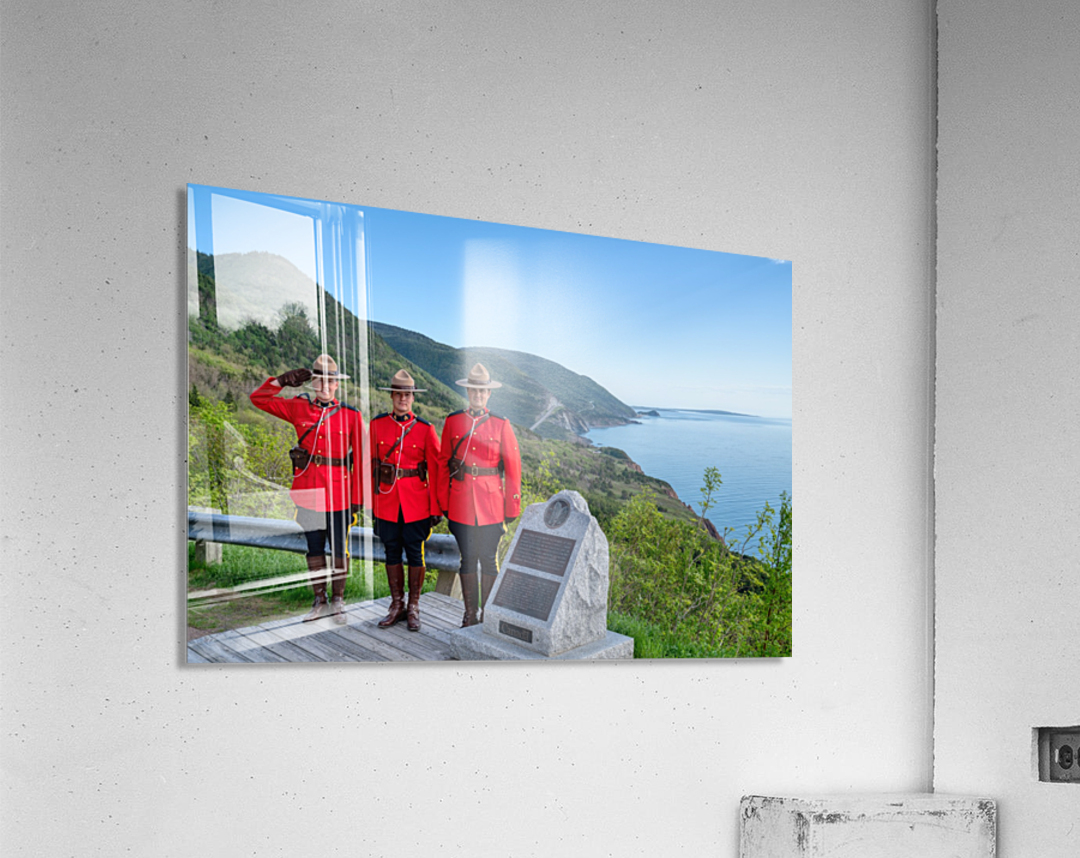 RCMP on French Mountain  Acrylic Print