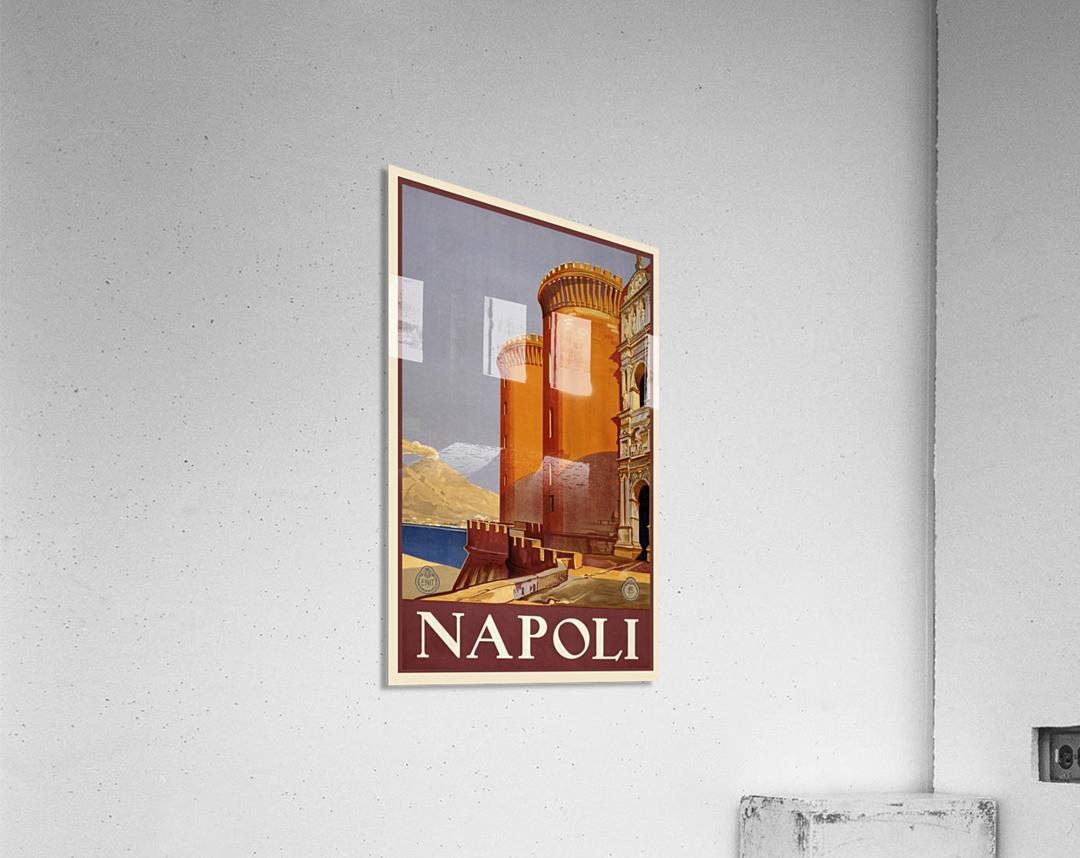 vintage travel travel poster poster  Acrylic Print