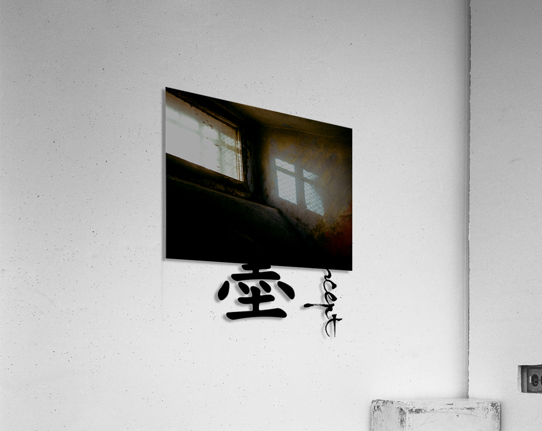 Chinese Concept 18A  Acrylic Print