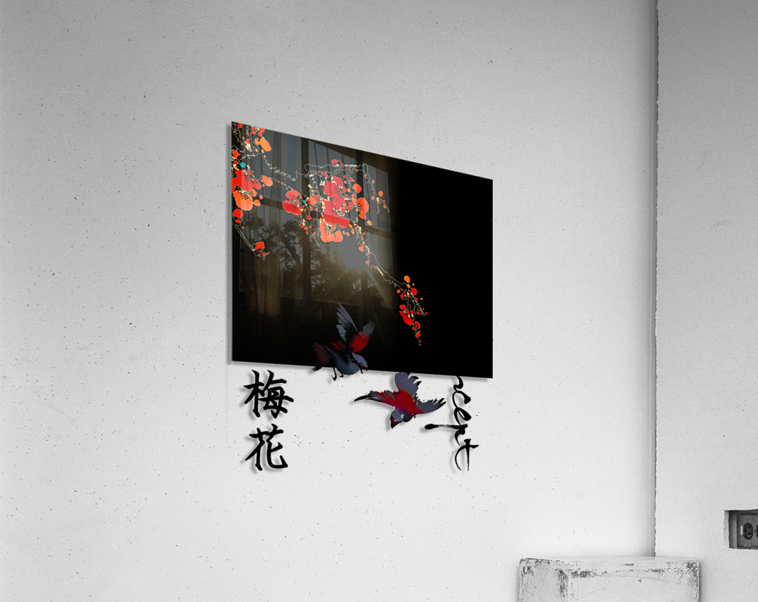 Chinese Concept 25A  Acrylic Print