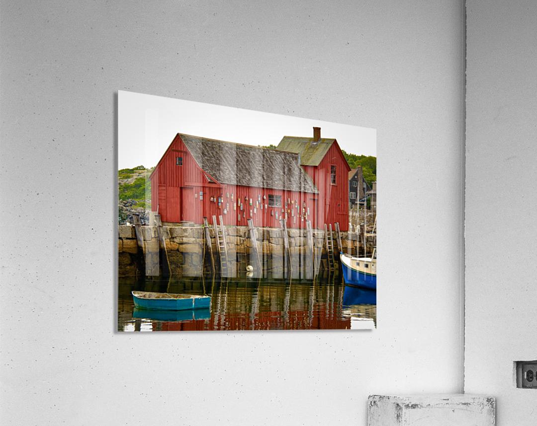 Motif Number 1 - Rockport MA  Acrylic Print