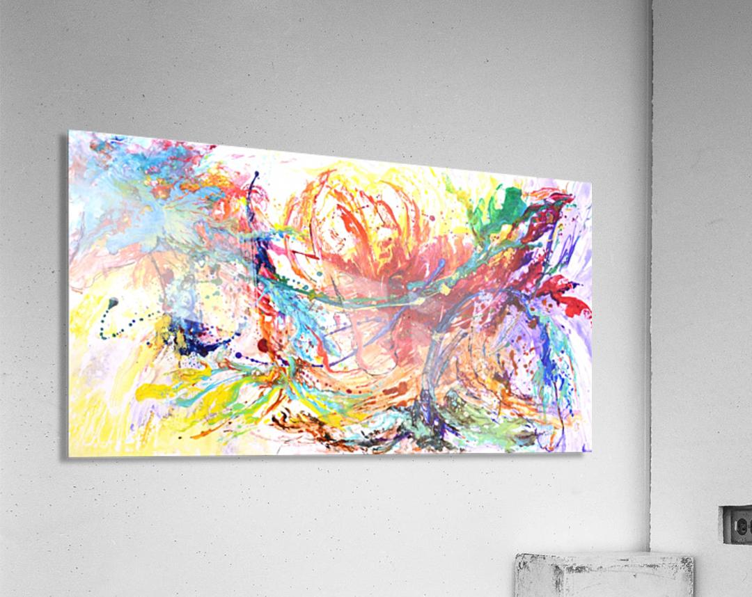 Riding Colors   Acrylic Print