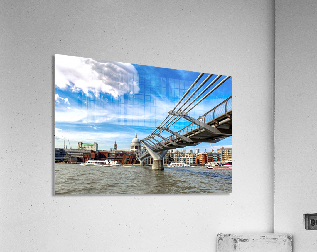 Landscape - London skyline - St Pauls Cathedral  Acrylic Print