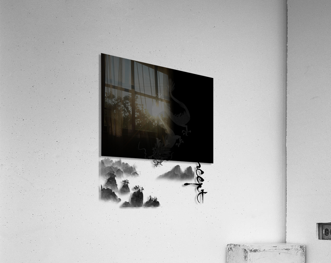 Chinese Concept 52A  Acrylic Print