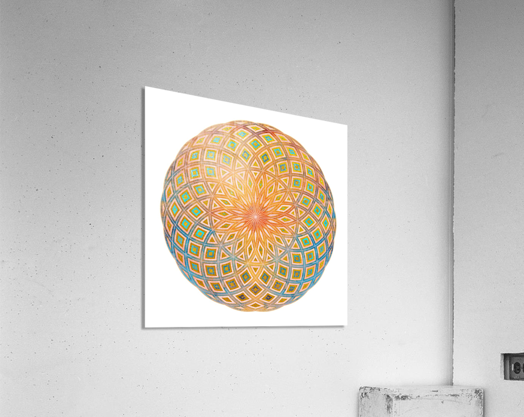 Life Geometry  Acrylic Print