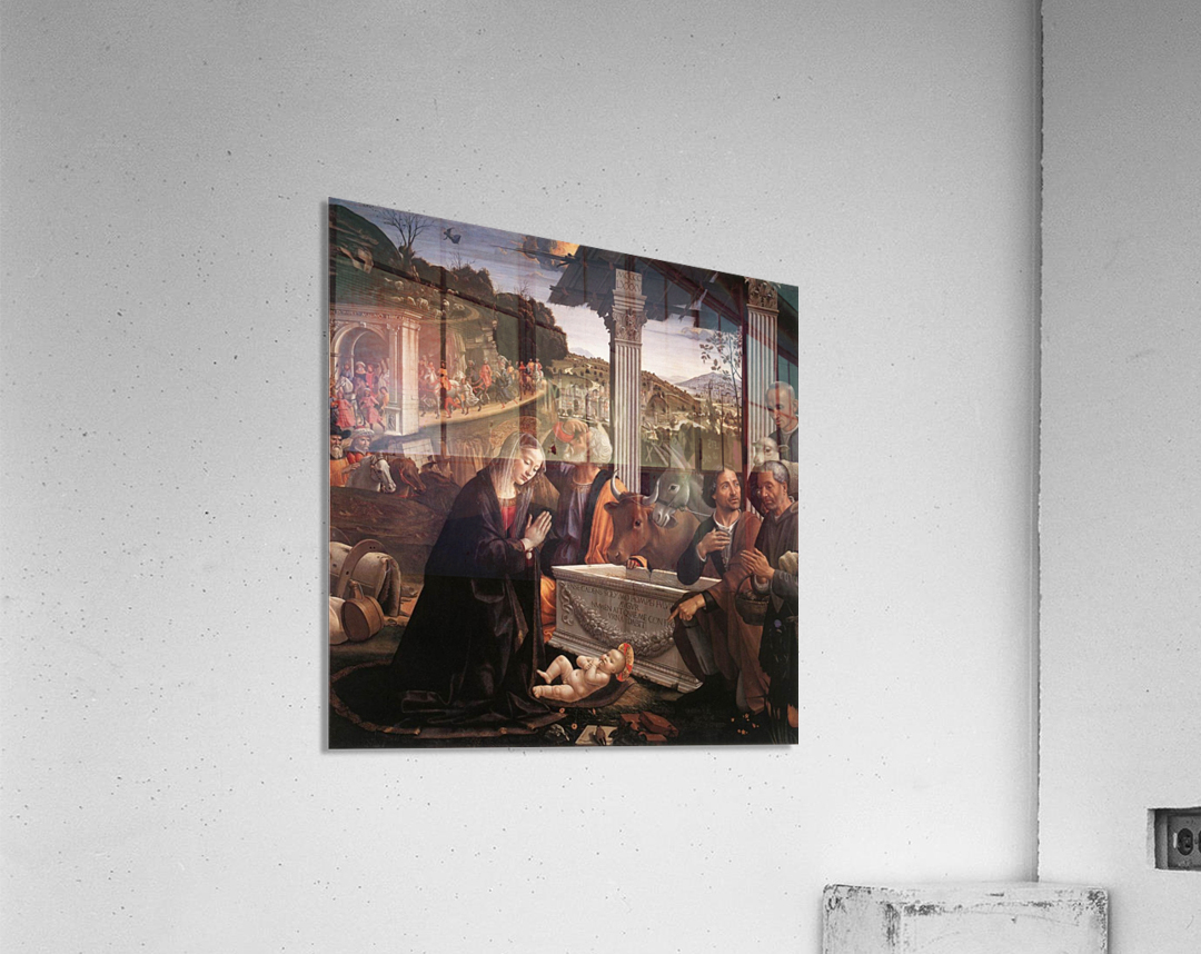 The adoration of the sheperds  Acrylic Print