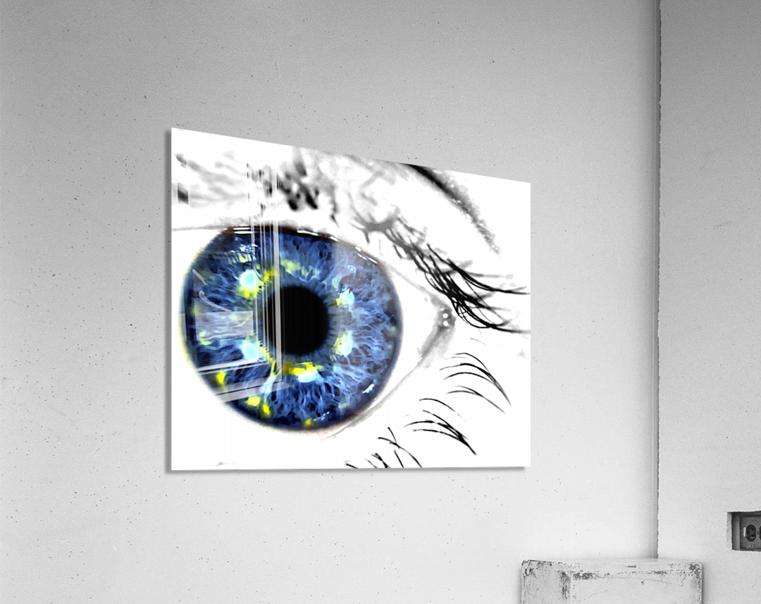 Eye Art 1  Acrylic Print